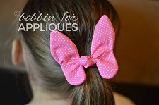 Butterfly Knot/Tie Bow ITH Project