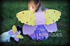 Hair Princess Inspired Wings ITH Project