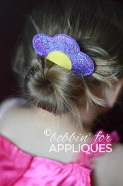 Daisy Hair Comb Topper
