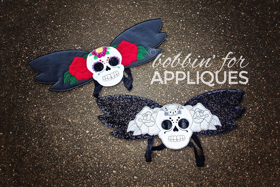 Sugar Skull Wings ITH Project
