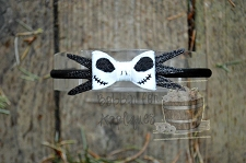 Jake Skeleton Inspired Felt Bow