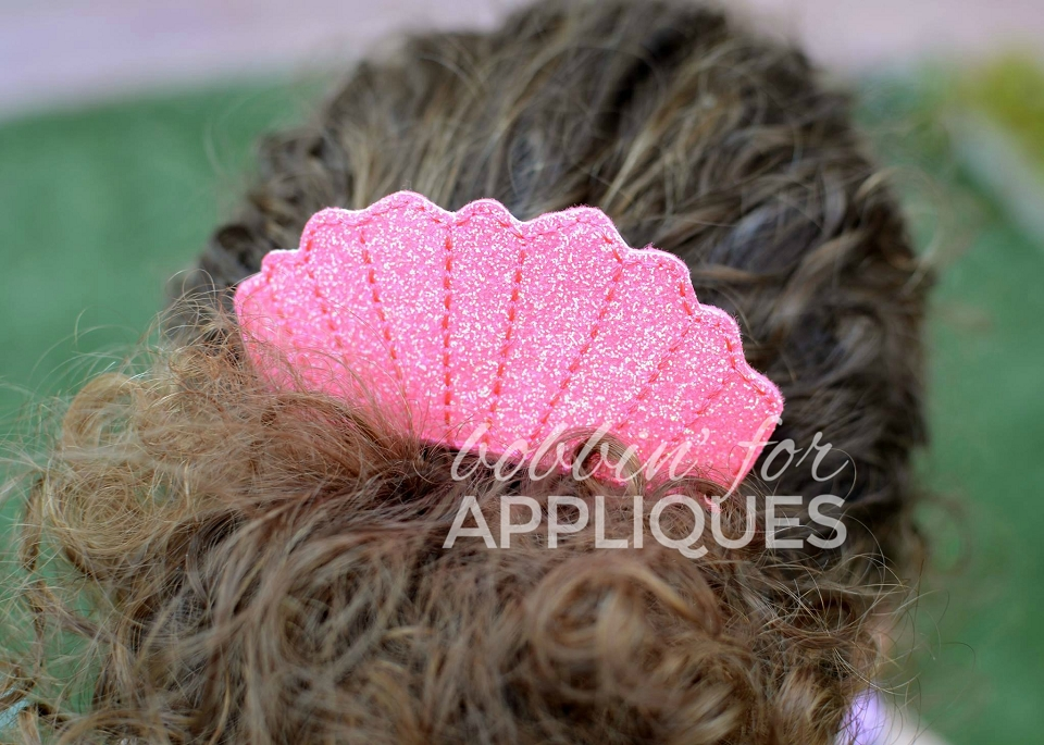 Sea Shell Hair Comb Topper