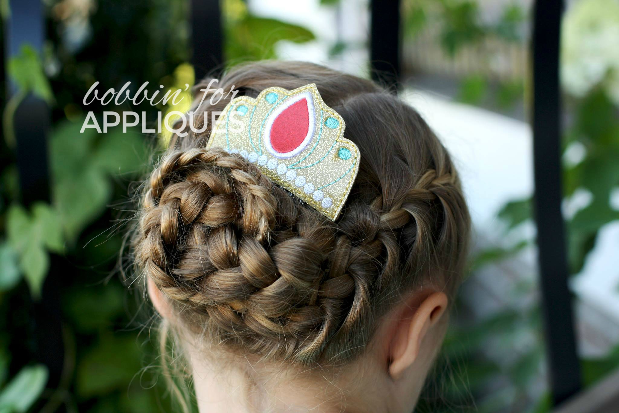 Princess of Avalor Inspired Comb Topper