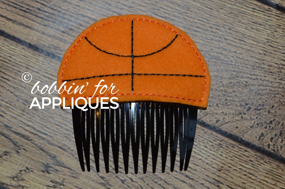 Basketball Hair Comb Topper