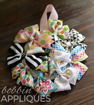Bow Holder Wreath ITH Project
