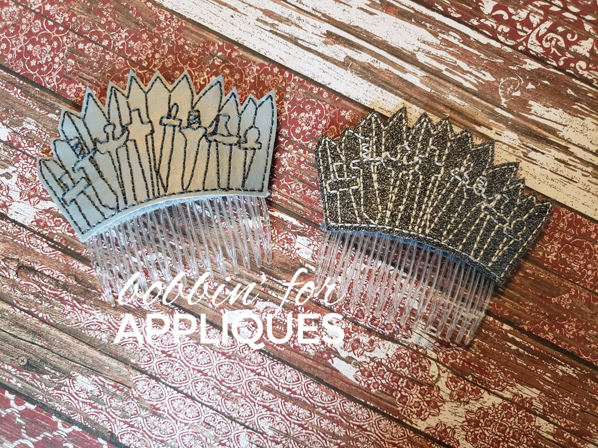 Iron Hair Comb Topper