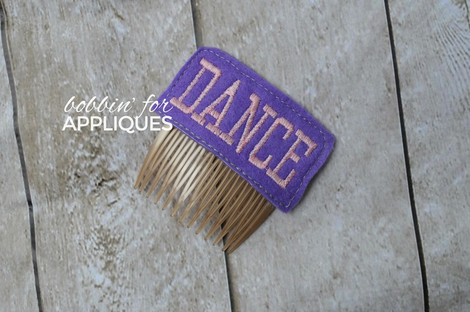 Dance Hair Comb Topper