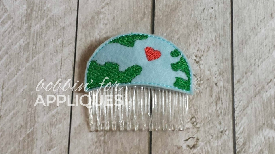 Love the Earth Hair Comb Topper