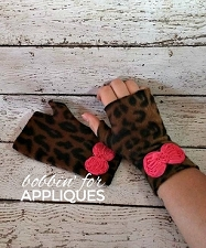 ITH Blank Fingerless Gloves Pattern
