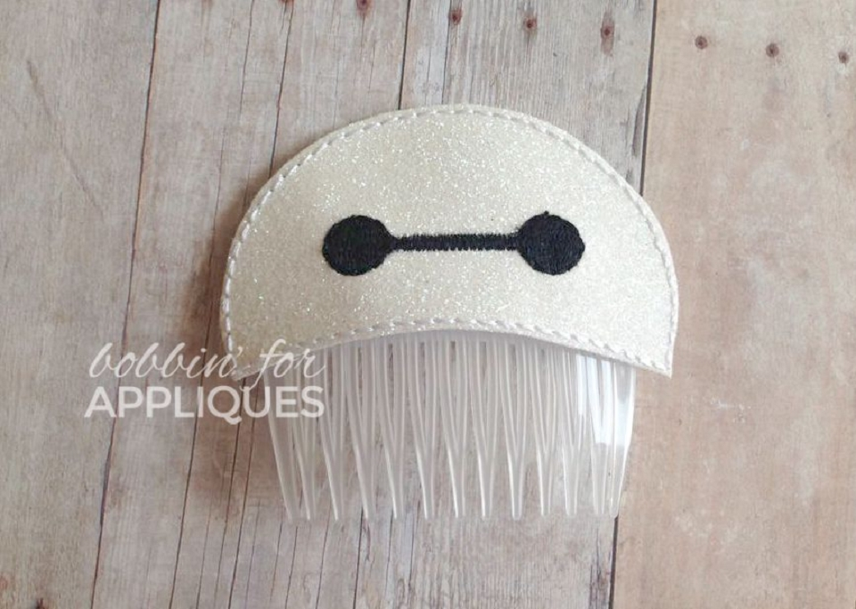 Fluffy Nurse Inspired Hair Comb Topper