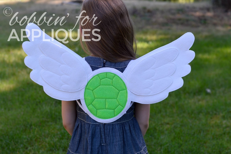 Flying Turtle Inspired Wings ITH Project