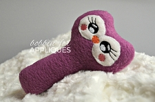 Lovable Owl Baby Rattle ITH