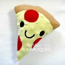 Kawaii Pizza Stuffie Stuffed Toy ITH
