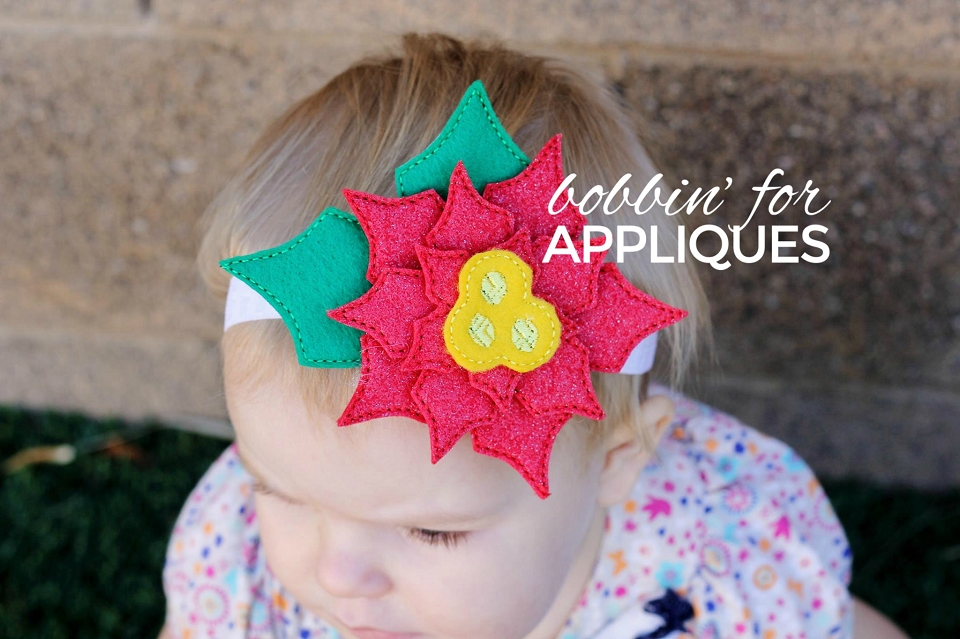 Stacked Poinsettia Flower Accessory Project
