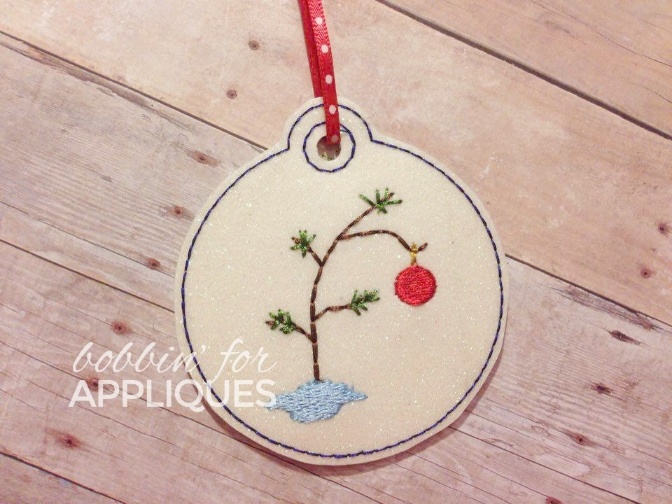 Little Love Tree Inspired Christmas Ornament