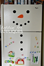 Snowman Magnets Holiday ITH Project