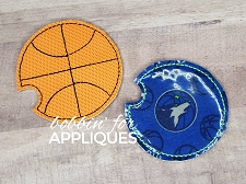Basketball Car Coaster Cup Holder Liner ITH