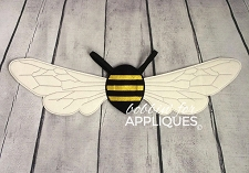 Bumble Bee Dress Up ITH Wings