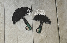 Bird Umbrella Inspired Feltie in 2 sizes