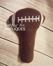 Football Baby Rattle ITH