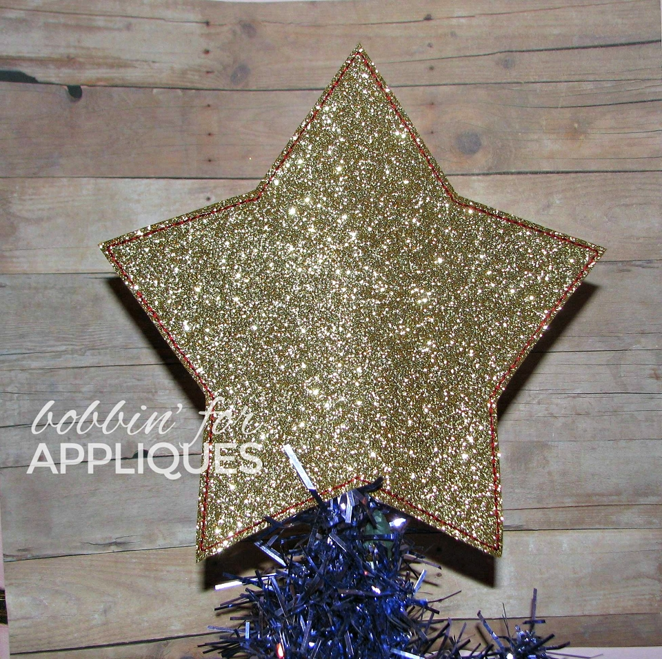 Star Tree Topper ITH Project