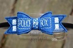 Police Box Inspired Bow