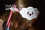 Kawaii Cloud Adjustable Ribbon Headband ITH