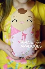 Swaddled Sweetheart Baby Doll In The Hoop Design