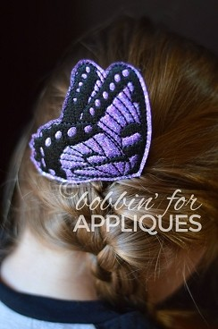 Butterfly Hair Comb Topper