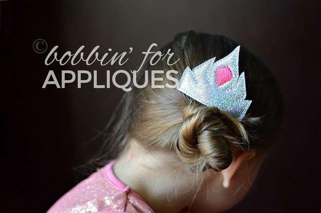 Princess Crown Inspired Hair Comb Topper