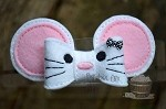 Little Mouse Felt Bow