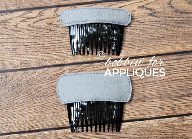 Blank Hair Comb Toppers