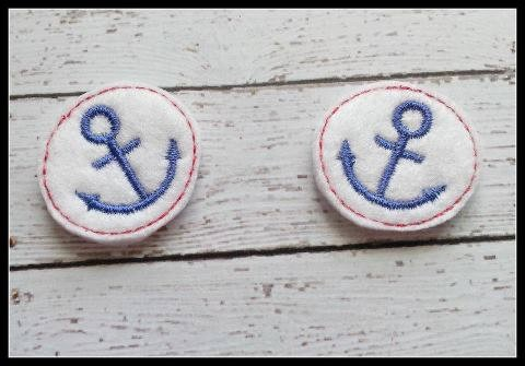 Anchor Feltie Embroidery Design File