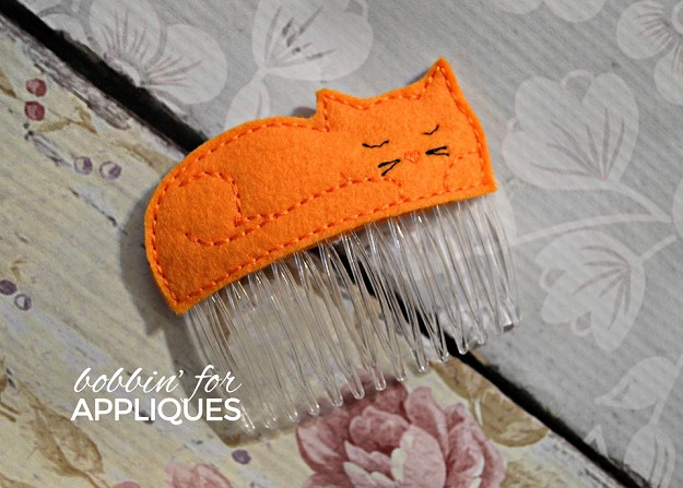 Cat Nap Hair Comb Topper