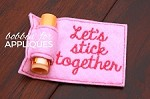 Let's Stick Together Valentine's Day ITH Balm Holder Gift