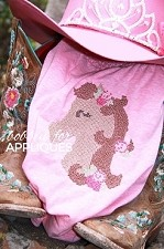 Cross Stitched Derby Darling Horse Machine Embroidery Designs