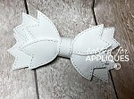 Spikes Only Basic Bow ITH 3D Felt Bow