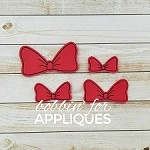 Classic Mouse Inspired Basic Bow Felties