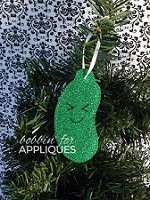Kawaii Pickle Ornament