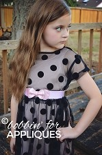 Kid Size Bow Belt Children's ITH In the Hoop Belt Pattern/Design
